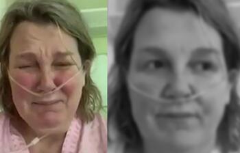 Koronavirüs hastası ağlayarak yalvardı: Evden çıkmayın