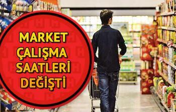 Market çalışma saatleri: Migros, Şok, Carrefour BİM, A101, saat kaçta açılacak, kaçta kapanacak?