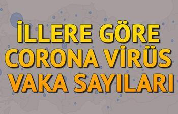 Türkiye ve Dünyada Corona virüsü vakalarında son durum - 6 Nisan Türkiye Corona virüsü haritası