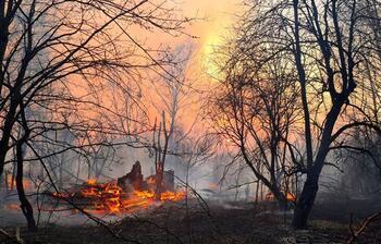 Çernobil'deki yangın 3 gündür devam ediyor
