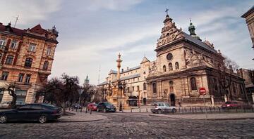 Park içinde kurulu bir şehir: Lviv
