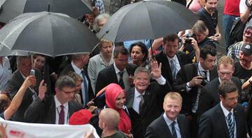 Gaucktan Keup Caddesindeki Türklere teşekkür