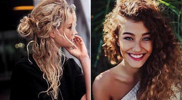 Kıvırcık saçları şekillendirmenin 18 yolu