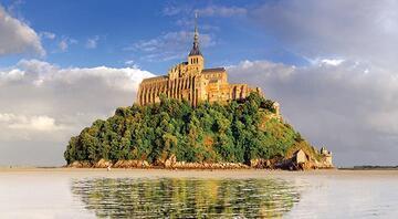 Fransa sadece Paris değildir Mont St. Micheli de keşfedin