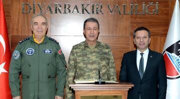 Genelkurmay Başkanı Hulusi Akar, Diyarbakırda