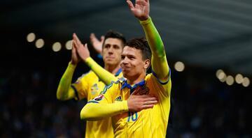 Ukrayna Fransa biletini riske etmedi