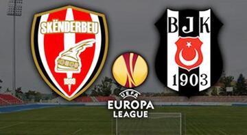 Beşiktaş Skenderbeu maçı ne zaman, saat kaçta, hangi kanalda (canlı izle)
