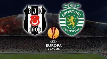 Sporting Lizbon - Beşiktaş maçı ne zaman, saat kaçta, hangi kanalda | CANLI İZLE