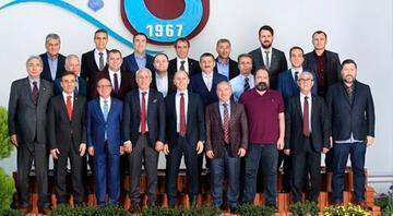 Trabzonsporda görev dağılımı yapıldı