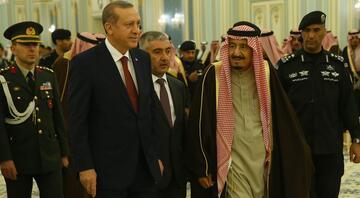 Cumhurbaşkanı Erdoğan Suudi Arabistanda