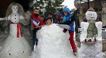 Bu sezonun en iyi kardan adamını seçiyoruz