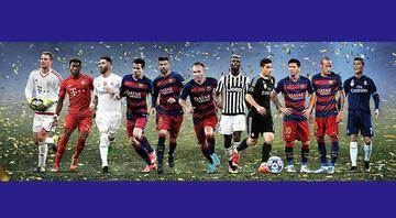 İşte UEFAda 2015in en iyi 11i