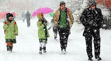 18 Ocakta hangi illerdeki okullarda kar tatili ilan edildi