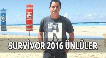 Survivor 2016 Ünlüler takımında kimler var - Tam kadro