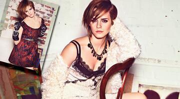 Emma Watsonın bu resmini görünce çok şaşıracaksınız
