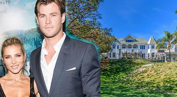 Ünlü aktör Chris Hemsworthün saray yavrusu evi