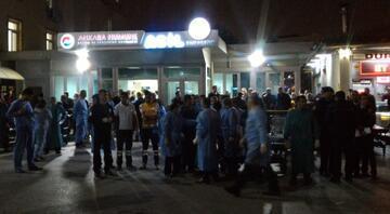 Ankaradaki patlama sonrasında hastanelerde alarm