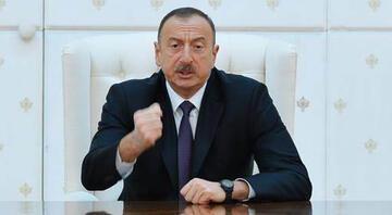 Azerbaycan Cumhurbaşkanı Aliyev: Büyük bir zafer kazandık