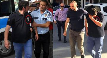 Üzerinde çevik kuvvet polislerinin giydiği üniforma ile Kılıçdaroğlunu protesto ederken gözaltına alındı