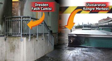 Almanya'da camilerin önünde polis bekleyecek