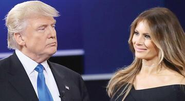 Videosu ortaya çıkan Trump'a eşinden hem eleştiri hem destek