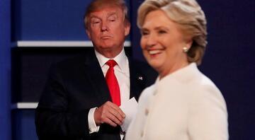 Clinton ve Trump son kez kozlarını paylaştı