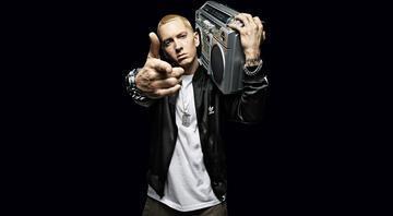 Eminem, Trumpa açtı ağzını, yumdu gözünü