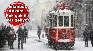 İstanbulda kar ne zaman yağacak İşte o tarih
