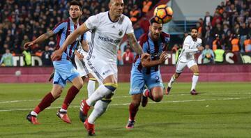 Trabzonspor - F.Bahçe maçına damga vuran olaylar