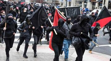 Washingtondaki protesto gösterilerinde olay çıktı
