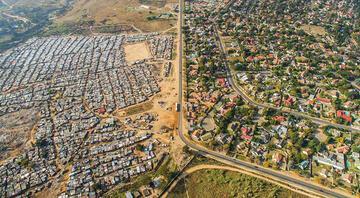 Cape Town'daki zengin-fakir uçurumunun en somut hali