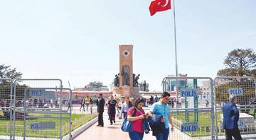 1 Mayıs: İstanbulda 30 bin 101 polis