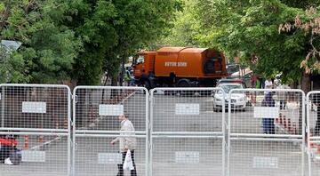 Ankarada 1 Mayıs kutlamalarında 4 bin 500 polis görev yapacak. İşte trafiğe kapalı yollar...