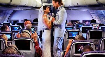 83 günde 38 farklı ülkede evlenen gezgin çift