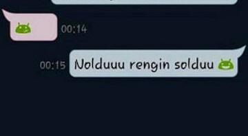 Okuyanları şaşkına çeviren Whatsapp konuşma kayıtları