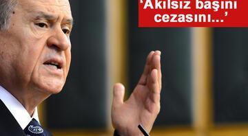 Kılıçdaroğluna yürüyüş tepkisi: Akılsız başın cezasını...