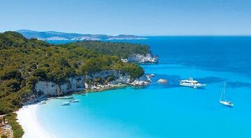 Yunan Adaları'nın uzak ufku
