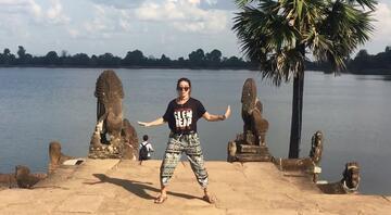 Asya'yı dans ederek gezen çılgın Türk