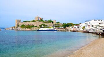 Cennet gibi koylarıyla ünlü Bodrum plajları