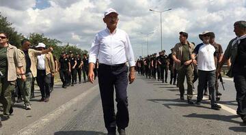 Murat Yetkin yazdı - Adalet Yürüyüşü biterken Kılıçdaroğlu neden yalnız yürüyor