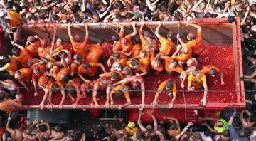 Bu festivali kaçırmayın: La Tomatina