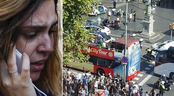 SON DAKİKA... Barcelonada minibüs kalabalığın arasına daldı... Çok sayıda yaralı var