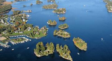 Kanada ile Amerikayı birleştiren masalsı adalar