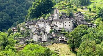16 kişinin yaşadığı Avrupadaki ilginç köy