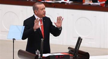 TBMM açılışında Erdoğandan flaş mesajlar