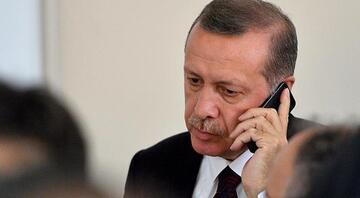 Cumhurbaşkanı Erdoğandan Talabani Ailesine taziye telefonu