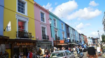 Rengarenk bir şehir: Londra