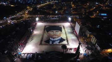 İzmirde 4 bin kişilik zeybek