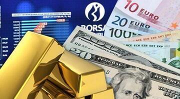 Dolar, altın, euro yükseldi Borsa rekor üstüne rekor kırdı