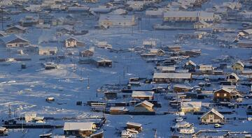 Bu köyde sıcaklık eksi 47 derece